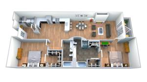 Apartment in SOCO- SOC1 by BookUrban, Apartmány  Austin - big - 2