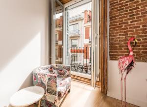 Prado Santa Ana 2BD/2BA, Appartamenti  Madrid - big - 2
