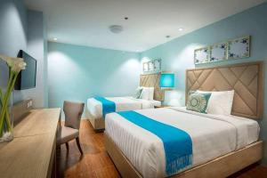 Dalian Peak Hotel, Hotely  Angeles - big - 37