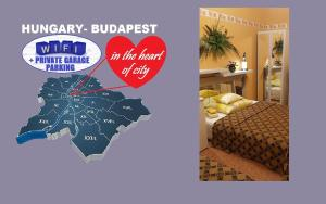 Room in the Budapest city center