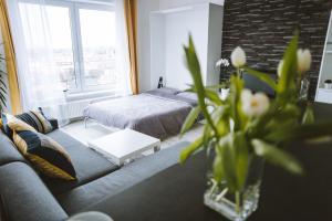 Design apartment the city centre close to the health spa