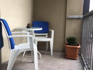 Apartment with balcony near King David residence, Apartmanok  Tbiliszi - big - 32