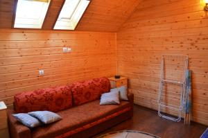Domek drewniany modrzewiowy w Ustroniu Morskim