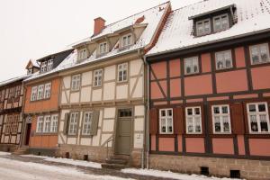 Urlaub im Fachwerk - Klink, Appartamenti  Quedlinburg - big - 44