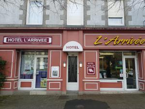 Hotel De L'arrivée, Hotels  Saint-Brieuc - big - 1