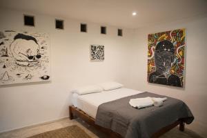 Residencia Gorila, Apartmanhotelek  Tulum - big - 196