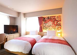 Hotel Wing International Premium Kanazawa Ekimae, Gazdaságos szállodák  Kanazava - big - 209