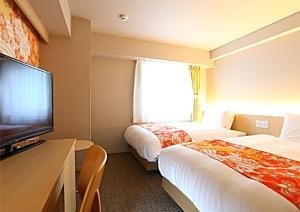 Hotel Wing International Premium Kanazawa Ekimae, Gazdaságos szállodák  Kanazava - big - 204