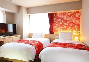 Hotel Wing International Premium Kanazawa Ekimae, Gazdaságos szállodák  Kanazava - big - 206