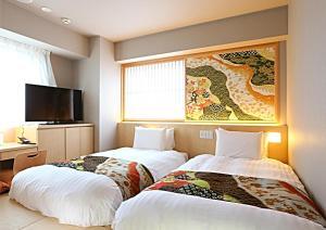 Hotel Wing International Premium Kanazawa Ekimae, Gazdaságos szállodák  Kanazava - big - 194