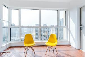 WeiHai Emily Seaview Holiday Apartment International Bathing Beach, Ferienwohnungen  Weihai - big - 19