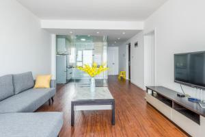 WeiHai Emily Seaview Holiday Apartment International Bathing Beach, Ferienwohnungen  Weihai - big - 56