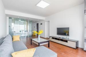 WeiHai Emily Seaview Holiday Apartment International Bathing Beach, Ferienwohnungen  Weihai - big - 62