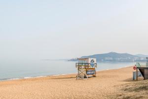 WeiHai Emily Seaview Holiday Apartment International Bathing Beach, Ferienwohnungen  Weihai - big - 49