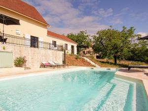 Chic Holiday Home in Rocamadour France With Private Pool