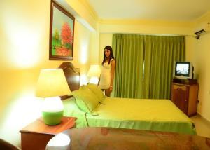 Apartahotel Caribe Paraiso, Апарт-отели  Хуан-Долио - big - 71