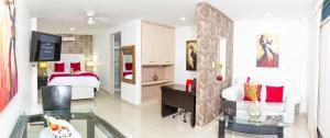 Hotel Boutique El Poblado, Отели  Нейва - big - 7