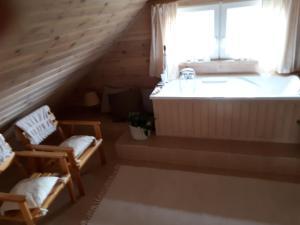 Drewniany dom w cudownej okolicy