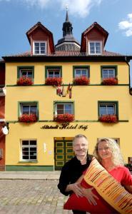 Altstadt Hotel Peiß, Hotely  Stralsund - big - 1