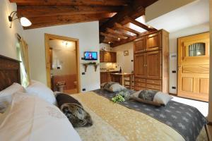 Habitación Doble con zona de cocina - 1 o 2 camas