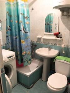 Apartment on Ulitsa Abazgaa, Gazdaságos szállodák  Gagra - big - 5
