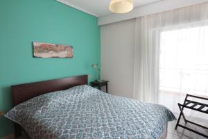 Joyful Turquoise Apt in Athens Historic Centre, Apartmány  Atény - big - 4