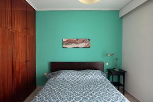Joyful Turquoise Apt in Athens Historic Centre, Apartmány  Atény - big - 5