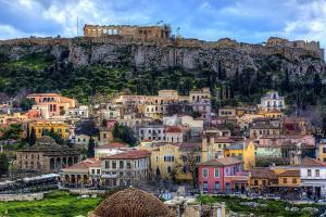 Joyful Turquoise Apt in Athens Historic Centre, Apartmány  Atény - big - 18