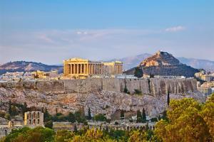 Joyful Turquoise Apt in Athens Historic Centre, Apartmány  Atény - big - 37