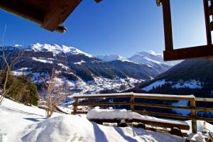Chalet Abraxas with astonishing view - Grimentz - Hotel