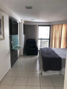 Flat na Praia de Boa viagem, Apartmánové hotely  Recife - big - 1