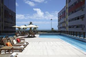 Flat na Praia de Boa viagem, Apartmanhotelek  Recife - big - 16