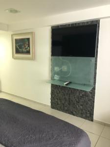 Flat na Praia de Boa viagem, Apartmanhotelek  Recife - big - 17