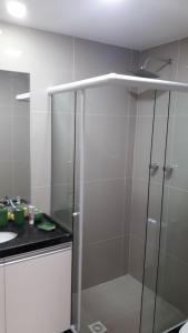 Flat Graças Prince 2 quartos, Apartmány  Recife - big - 12