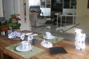 Penthouse in São Conrado, Гостевые дома  Рио-де-Жанейро - big - 17