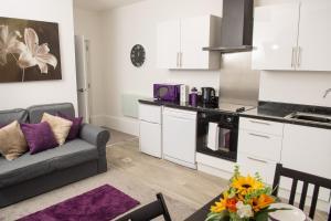 Moseley Mews Village Suites Purple