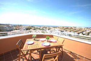 Penthouse with panoramic sea views - Apartment - Mijas Costa