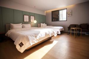 Brown-Dot Hotel Beomcheon, Hotely  Busan - big - 83