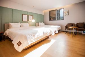 Brown-Dot Hotel Beomcheon, Hotely  Busan - big - 84