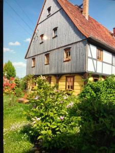 Ferien im Umgebinde - Fachwerkhaus - Neu Porschdorf