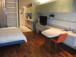 Beijing New Oriental Suites in Seasons Park Sanlitun, Residence  Pechino - big - 12