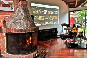 Casa La Villa De Moises, Проживание в семье  Чия - big - 11