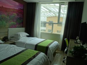 Hostels und Jugendherbergen - Qinghaihu Erlangjian Scenic Area Geri Hotel