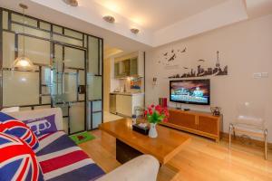 Tianfu International Apartment, Apartmanok  Csengtu - big - 3
