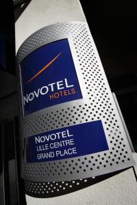 Novotel Lille Centre Grand Place, Отели  Лилль - big - 58