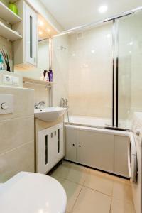 Apartment on Malaya Pirogovskaya 23, Ferienwohnungen  Moskau - big - 61