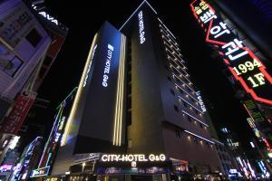 City Hotel G&G, Отели  Пусан - big - 42