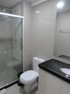 Flat Graças Prince 2 quartos, Apartmány  Recife - big - 23
