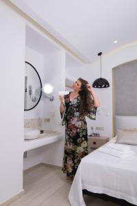 Spiros, Apartmánové hotely  Naxos Chora - big - 230