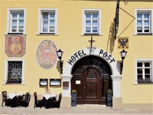 Hotel Hotel Post Weißenstadt Německo
